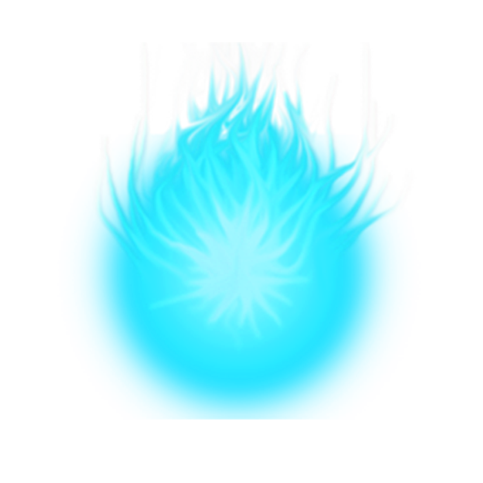 Transparent orb power. Images of energy ball