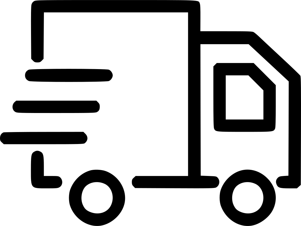Delivery icon png. Mini van express mail