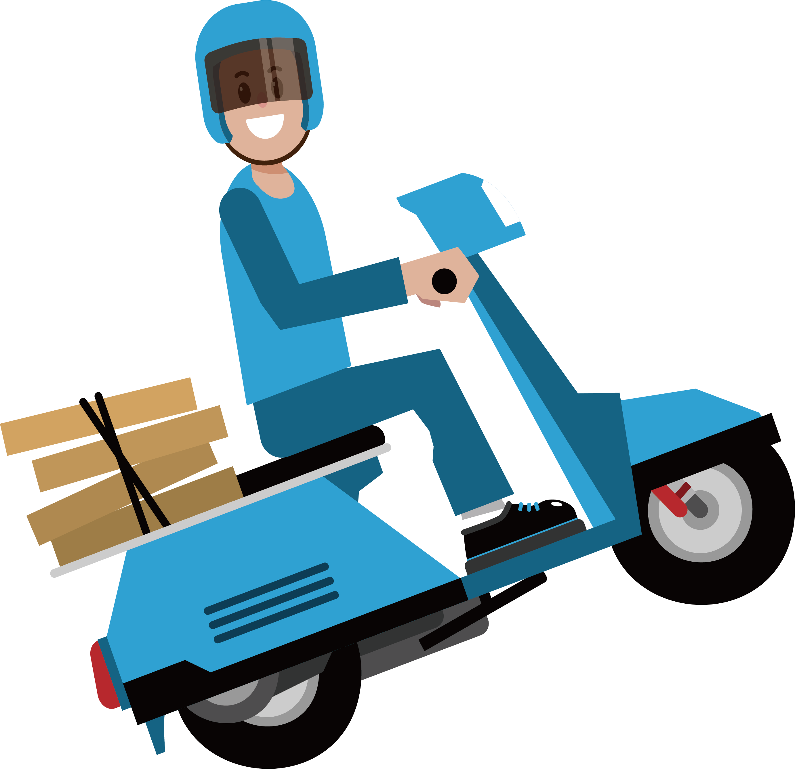 Png express download free. Delivery courier by bike