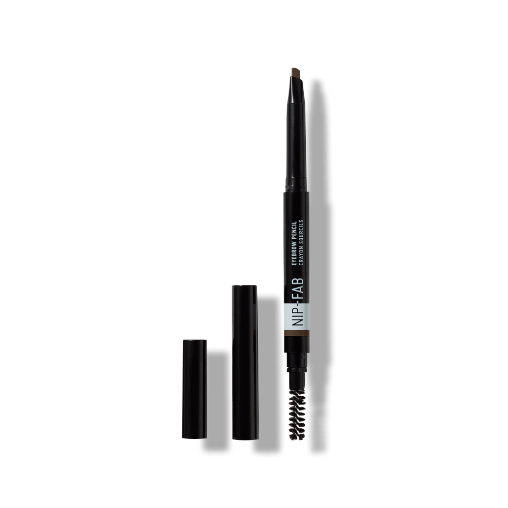Drawing accessory makeup. Eyebrow pencil ash brown