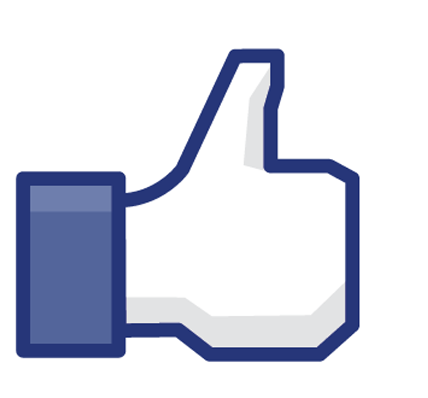 Image png. Facebook like buton call