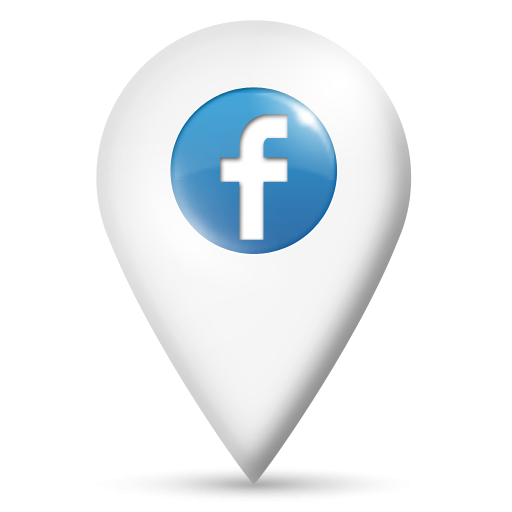 Png facebook. Map location icon clipart