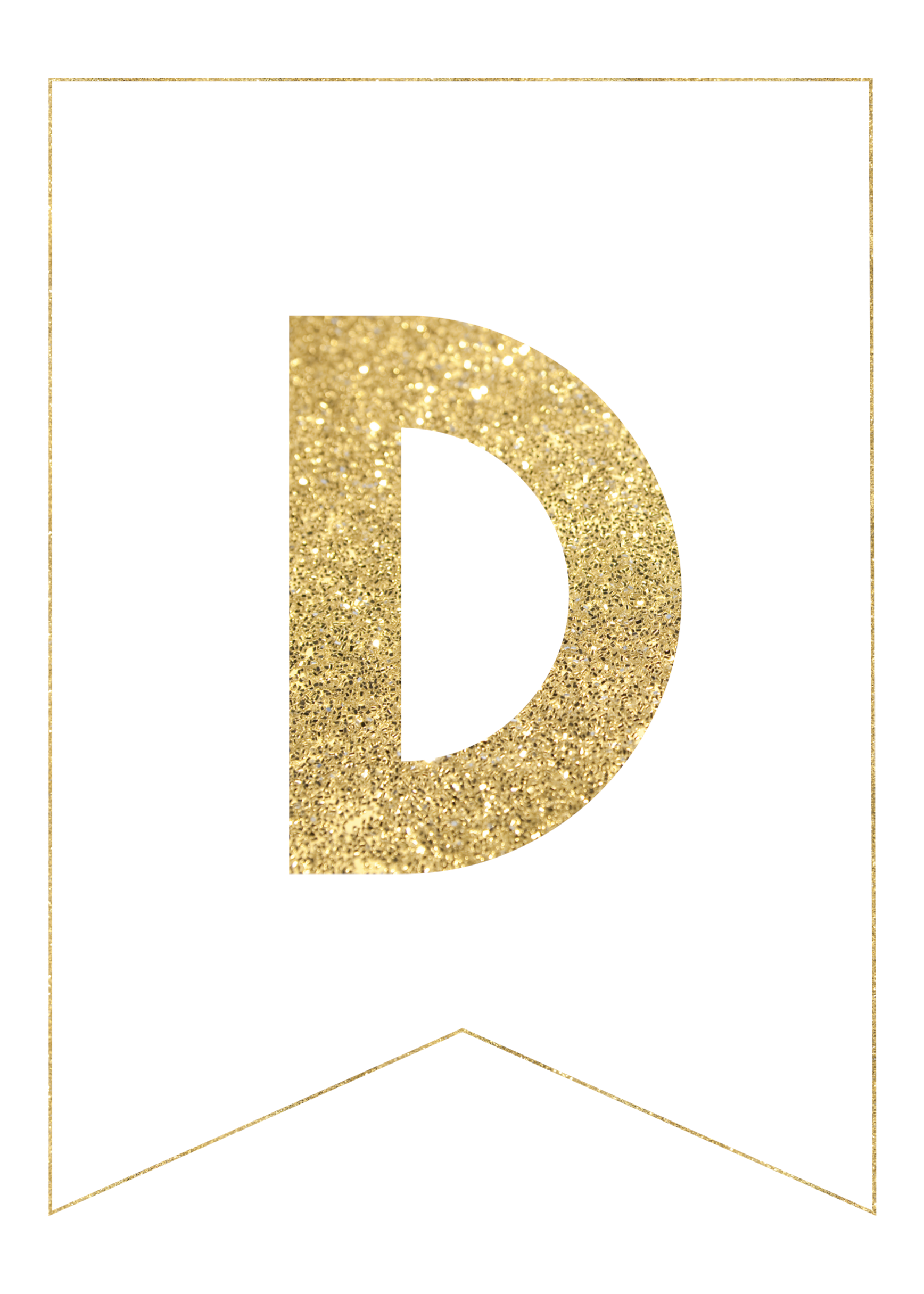 Png fancy gold letters. Free printable banner paper