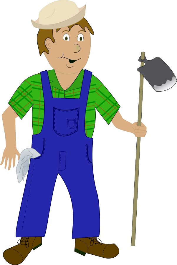 Farmer walking png. Collection of clipart