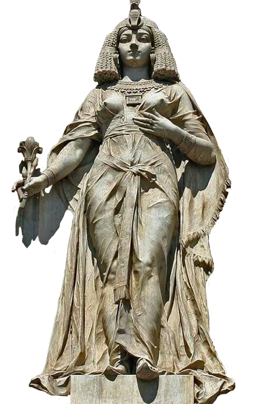 Png fertility goddess statue clear background. Cleopatra vii statues pinterest