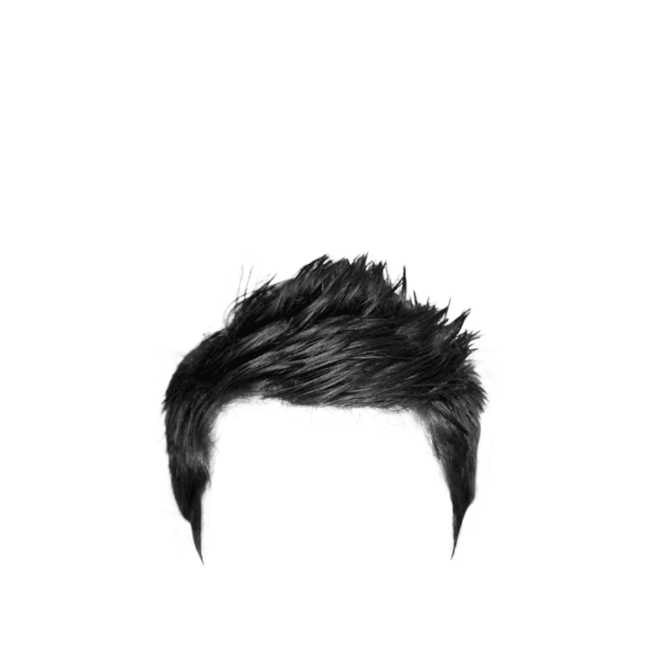 Part real hair zip. Png file download for picsart banner library library