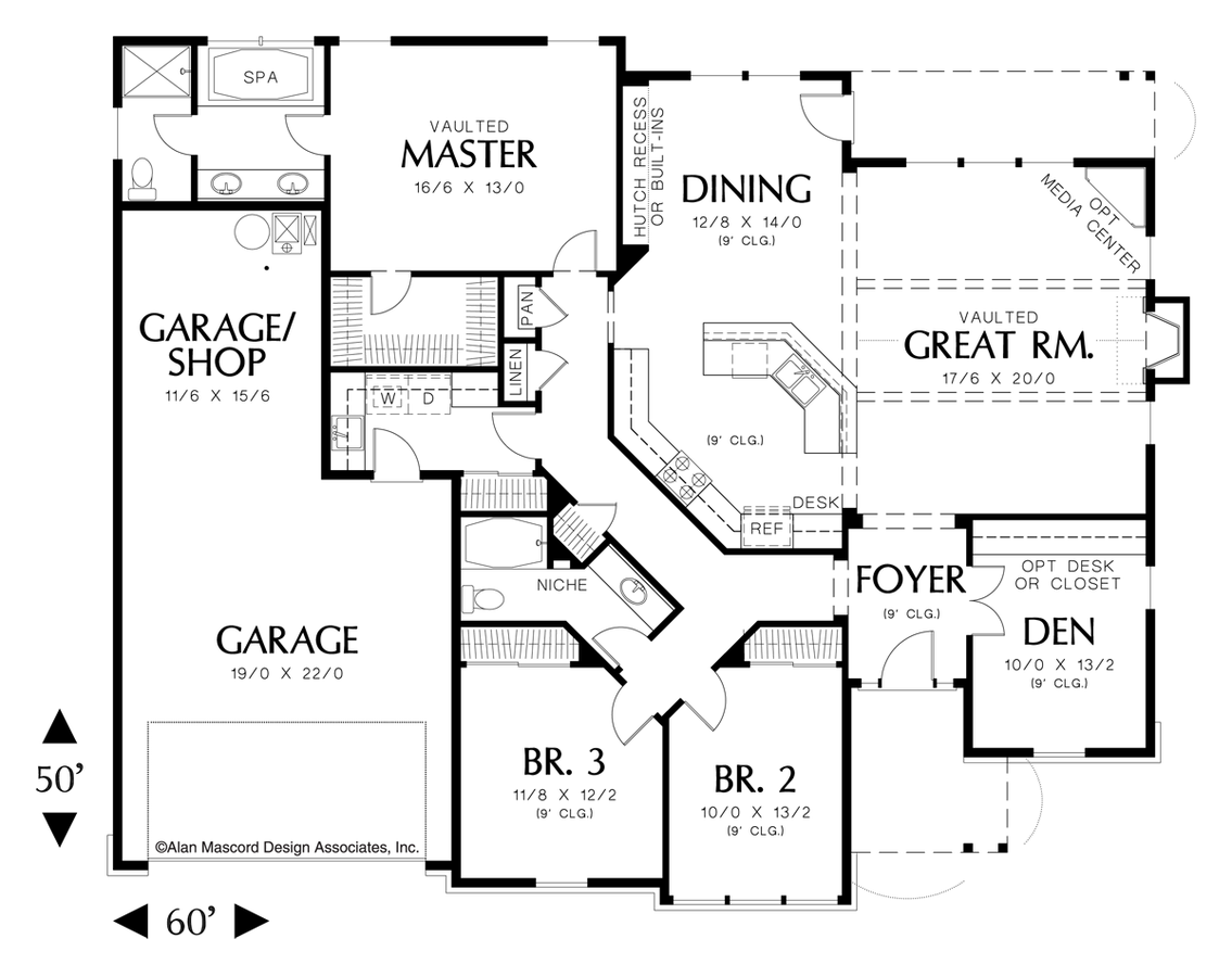 Png file floor plan creator. Craftsman house the galen