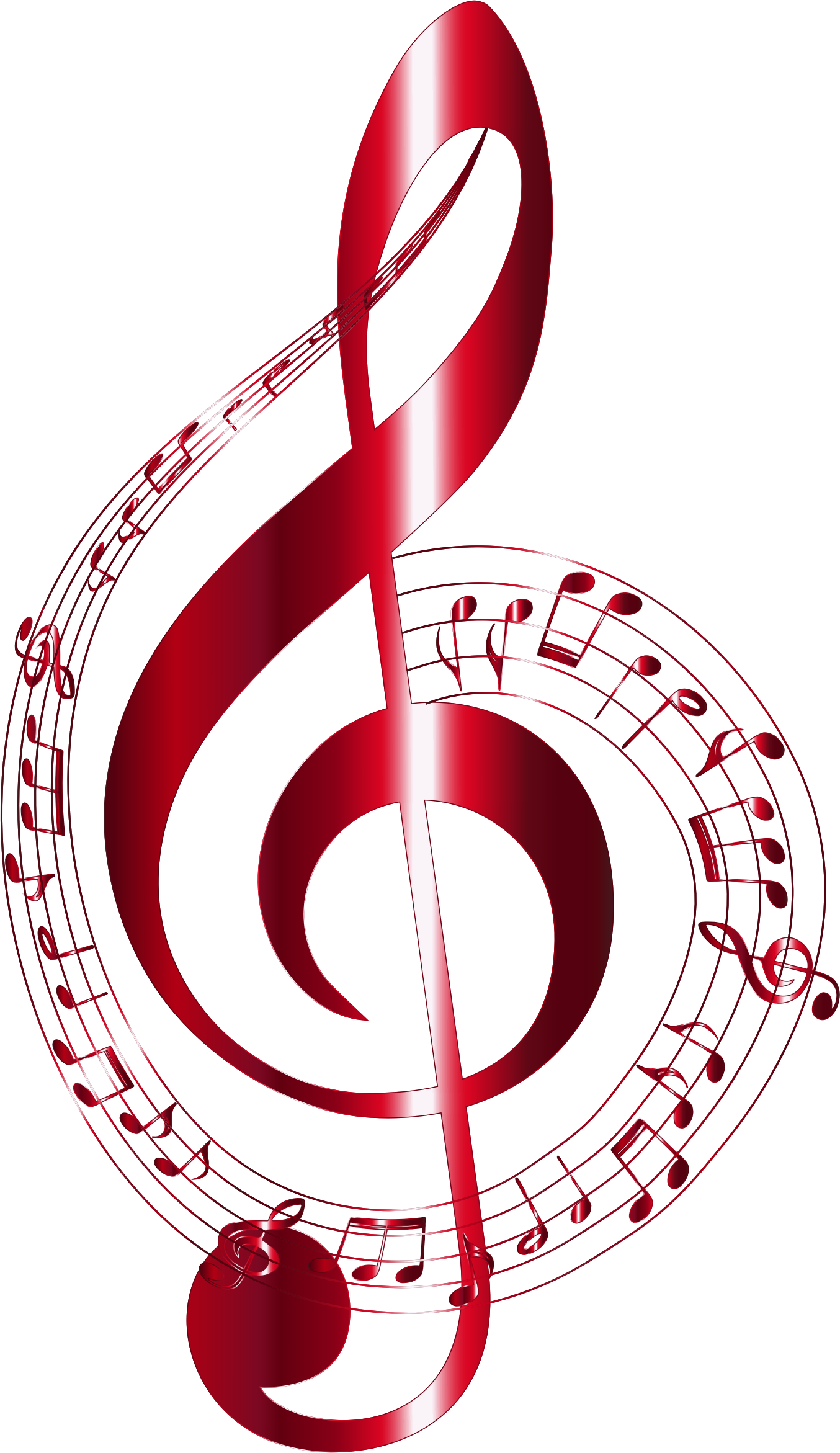 Musical notes red png. Vermilion typography no background
