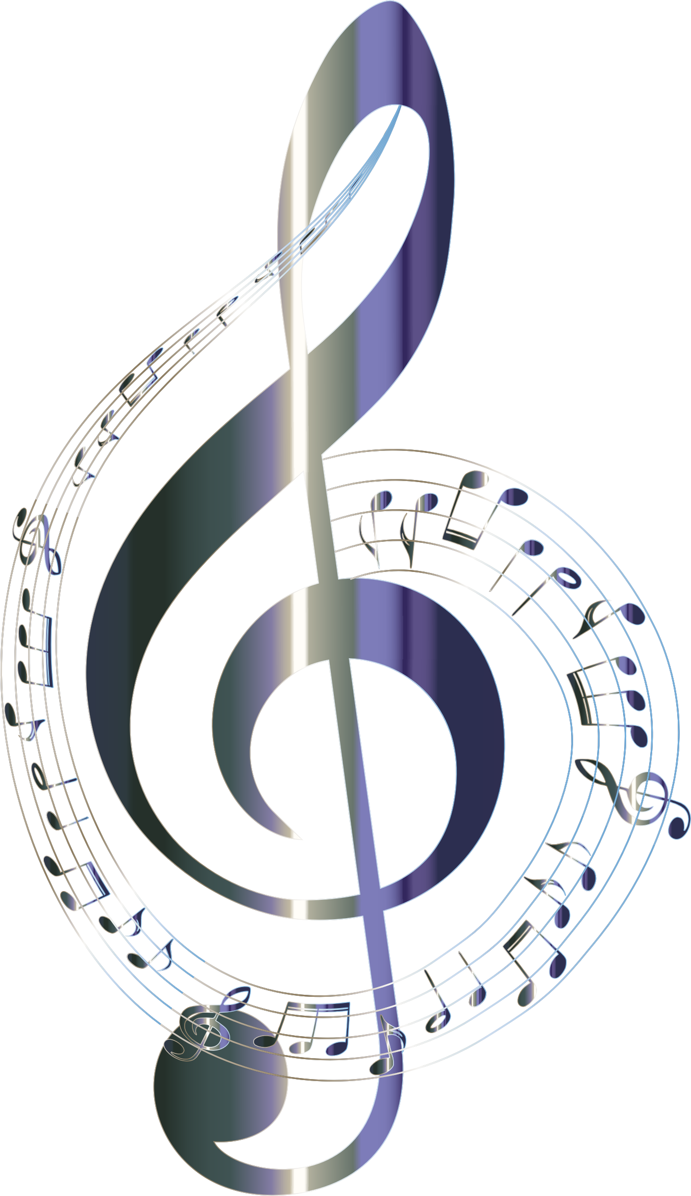 Png file format of music notes no background. Lacquered musical typography icons
