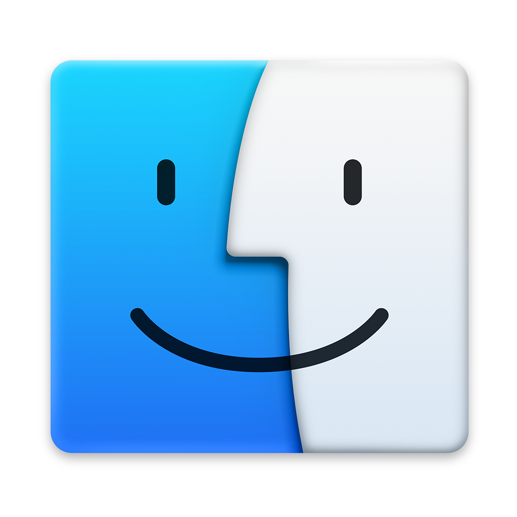 Svg mac finder. Icon os x yosemite