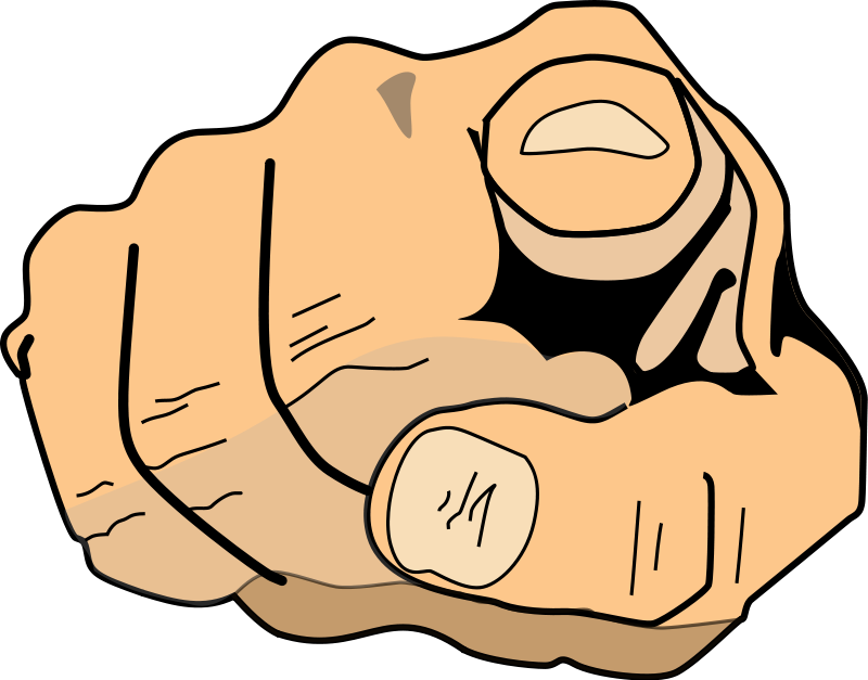 Png finger point. Middle clipart the cliparts