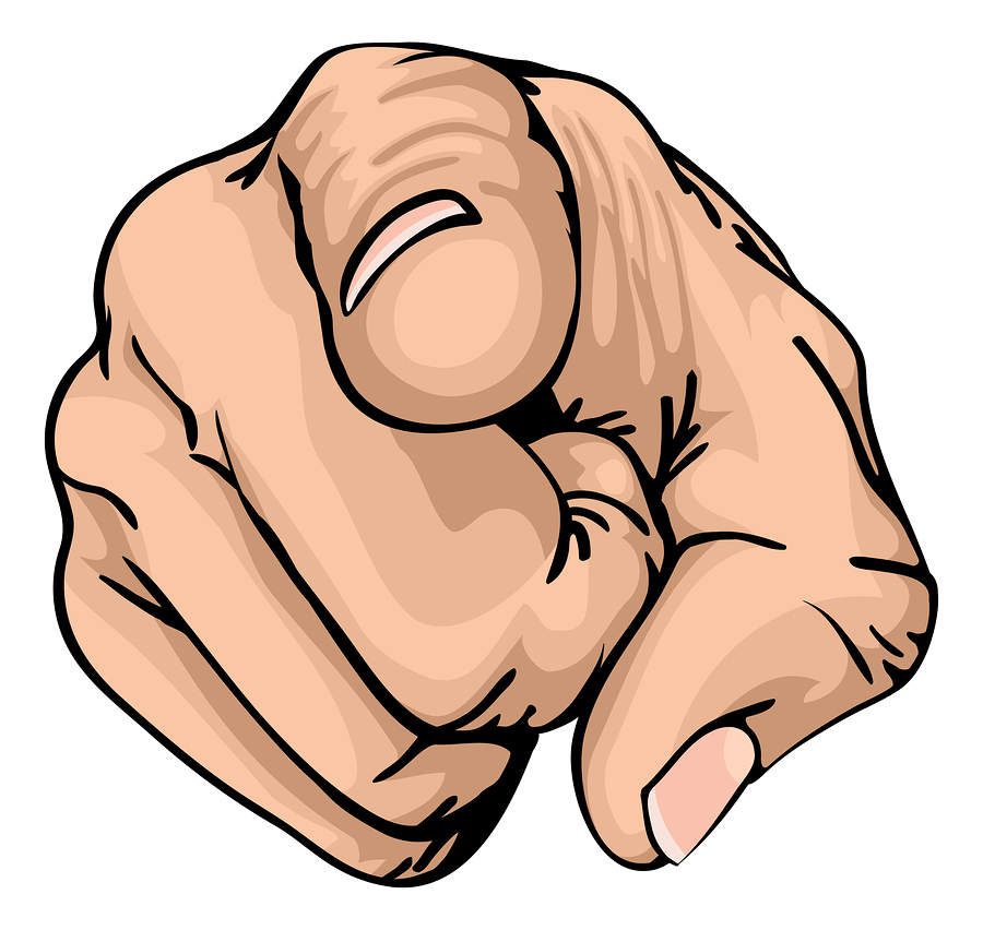 Png finger pointing at you. Sales marketing a perfect