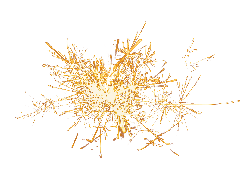 Png fireworks. Sparklers overlay isolated objects