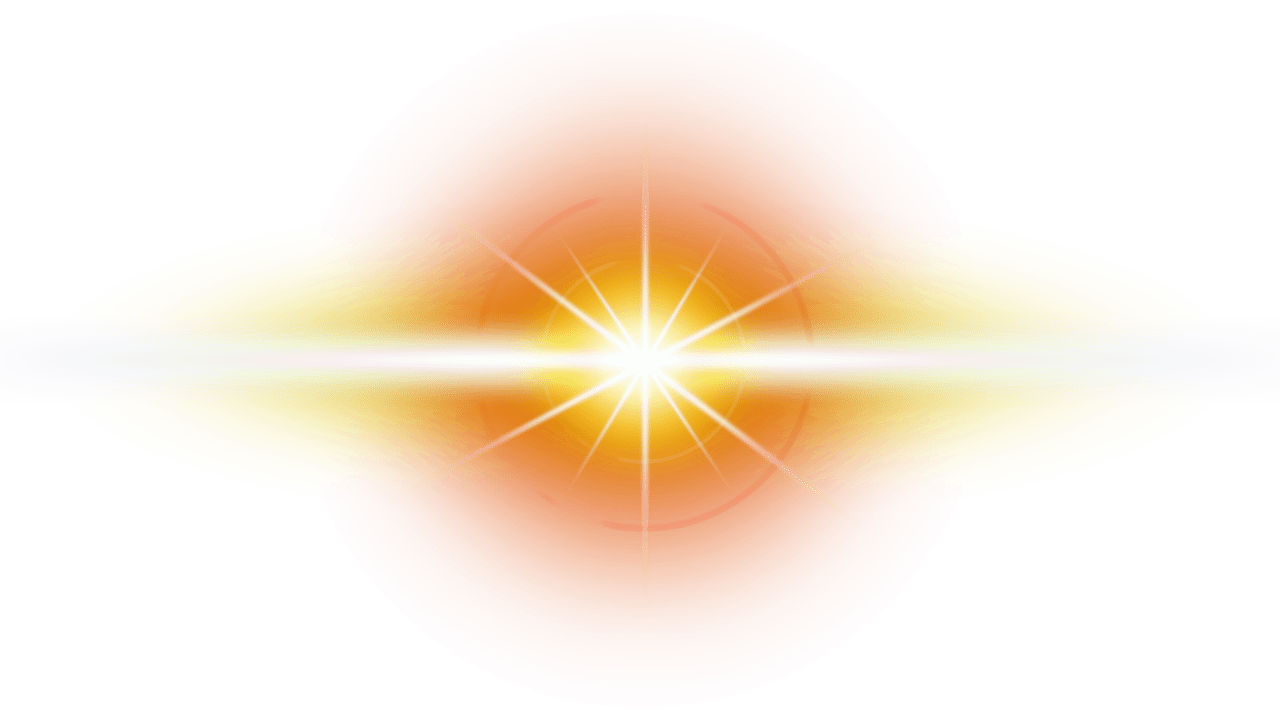 Png flare. Yellow photo arts