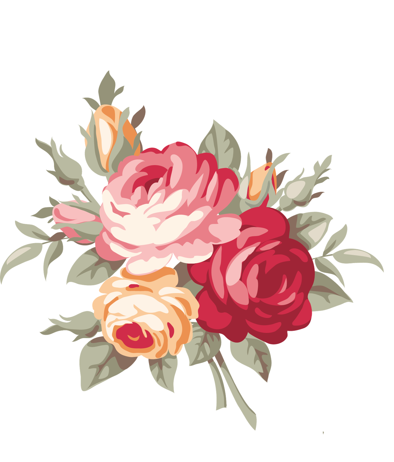 Flower design royalty free. Png floral jpg library stock