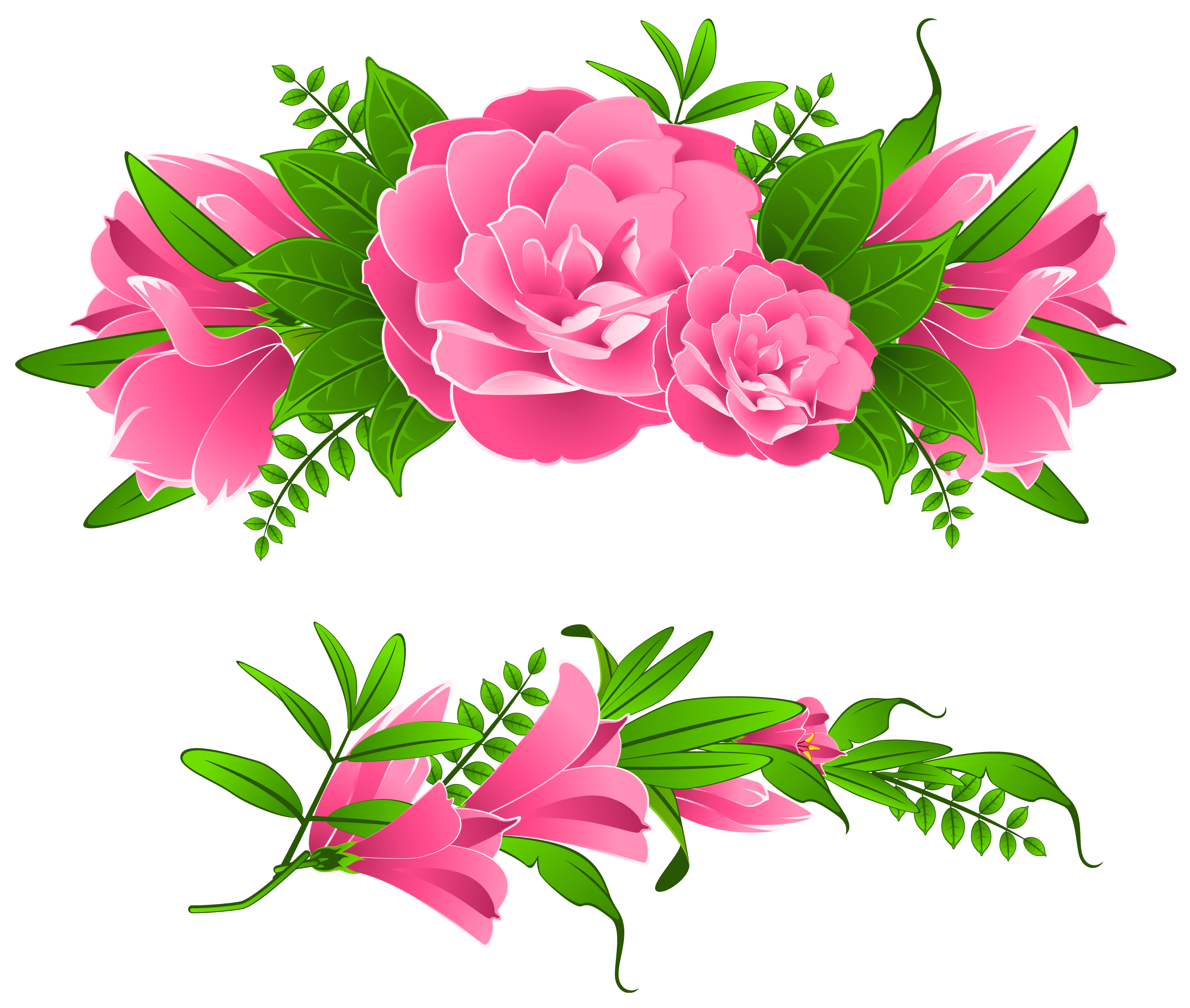 free clip art flowers transparent png clipart images free - HD3128×2649