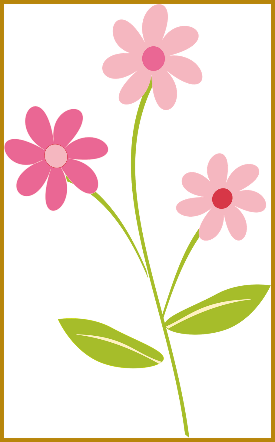 Png flower border. Incredible flowers clipart clipartsgram