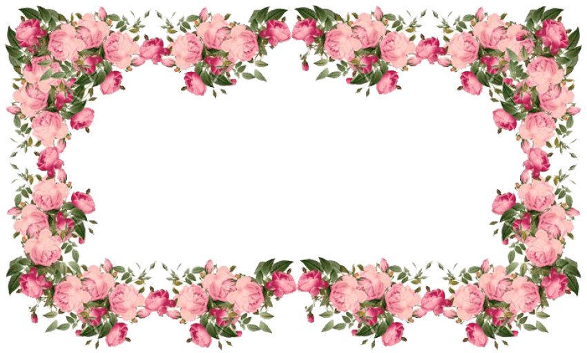 Png flower border. Flowers borders transparent free