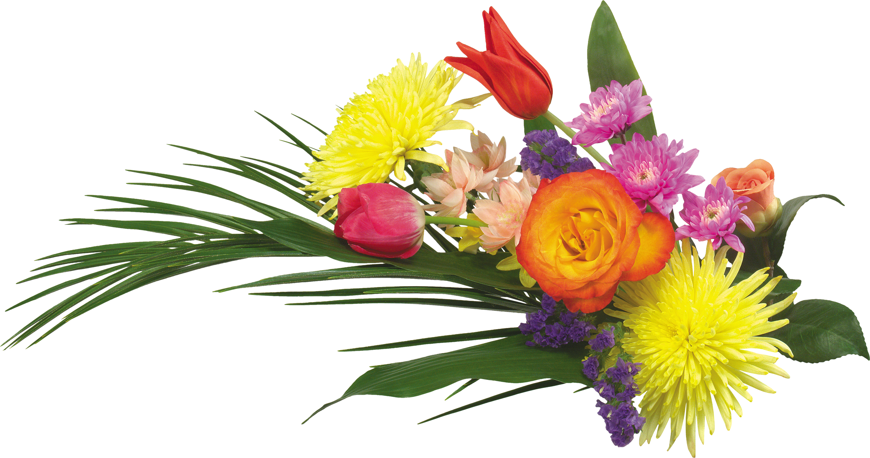 Floral flowers png. Bouquet