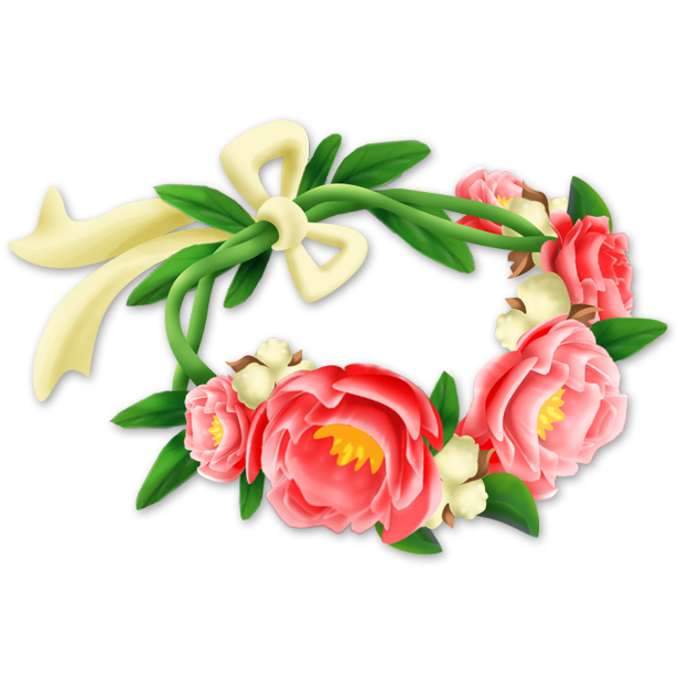 Png flower crown. Image hay day wiki