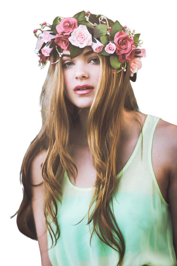 Png flower crown. By sinakoke on deviantart
