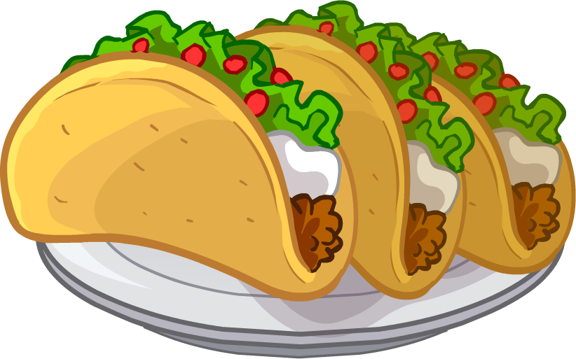 Png food. Image tacos puffle club