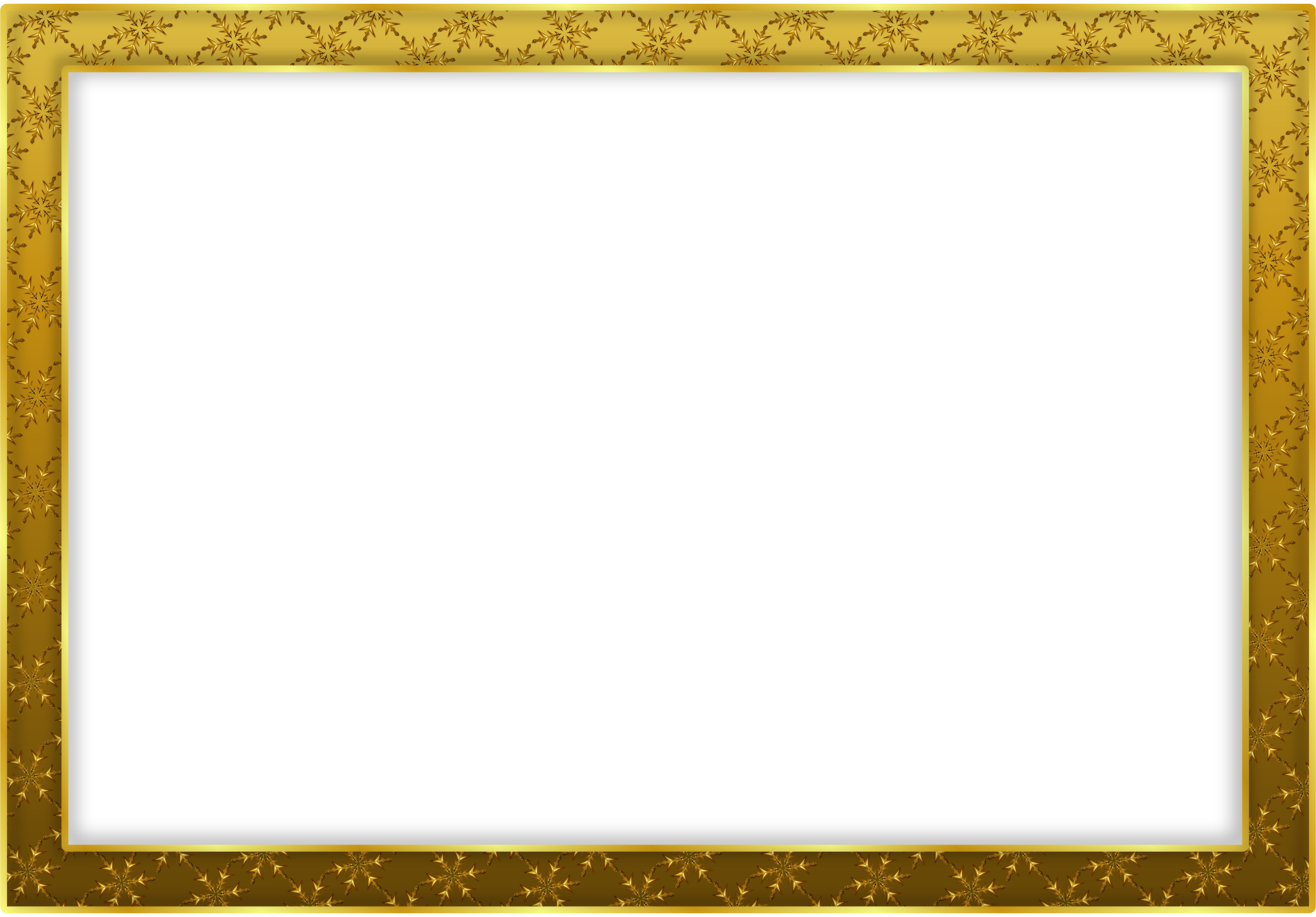 Png frame photo. Gold transparent images all