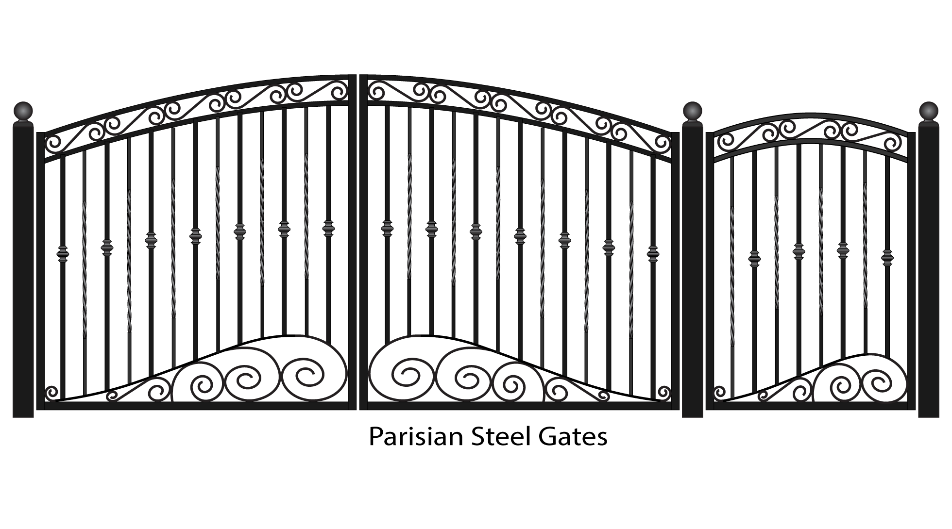 Png gate. Fancy clipart mart