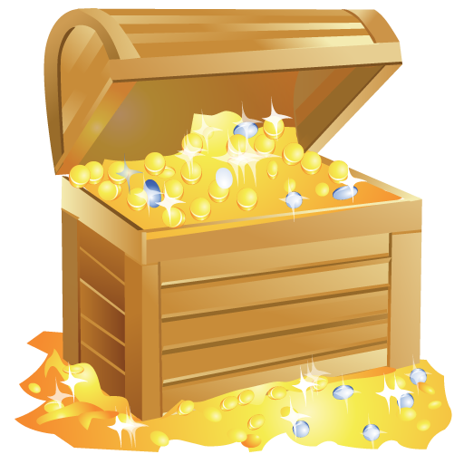 Png gold. Bright by iconeden icon