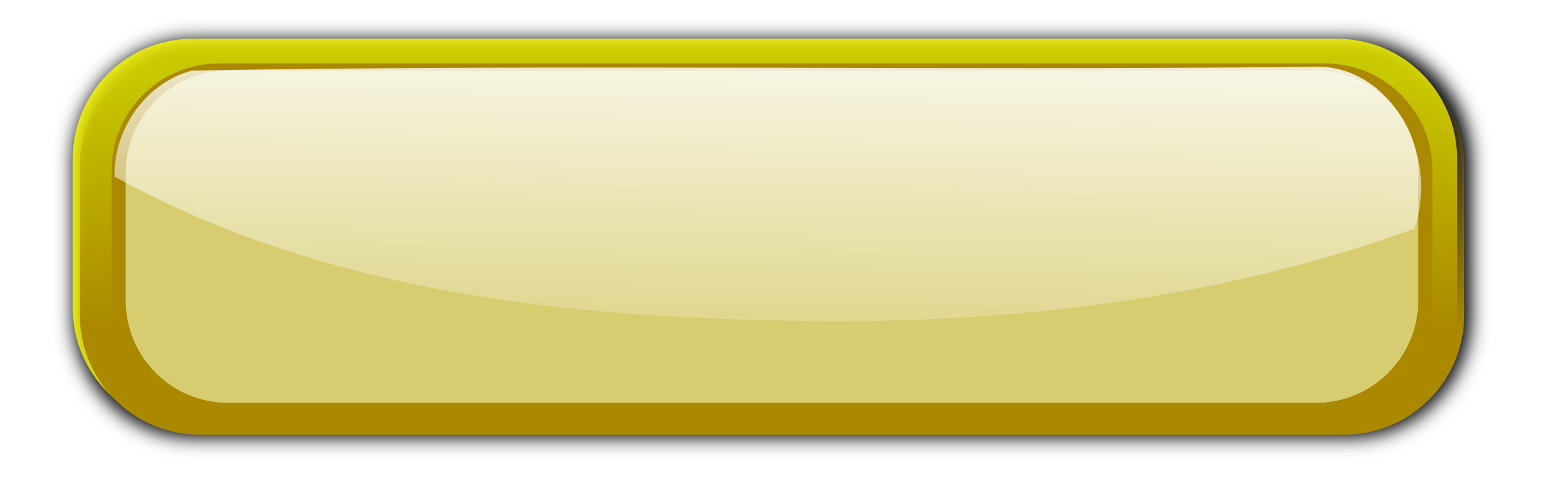 Blank web button png. Clipart gold big image