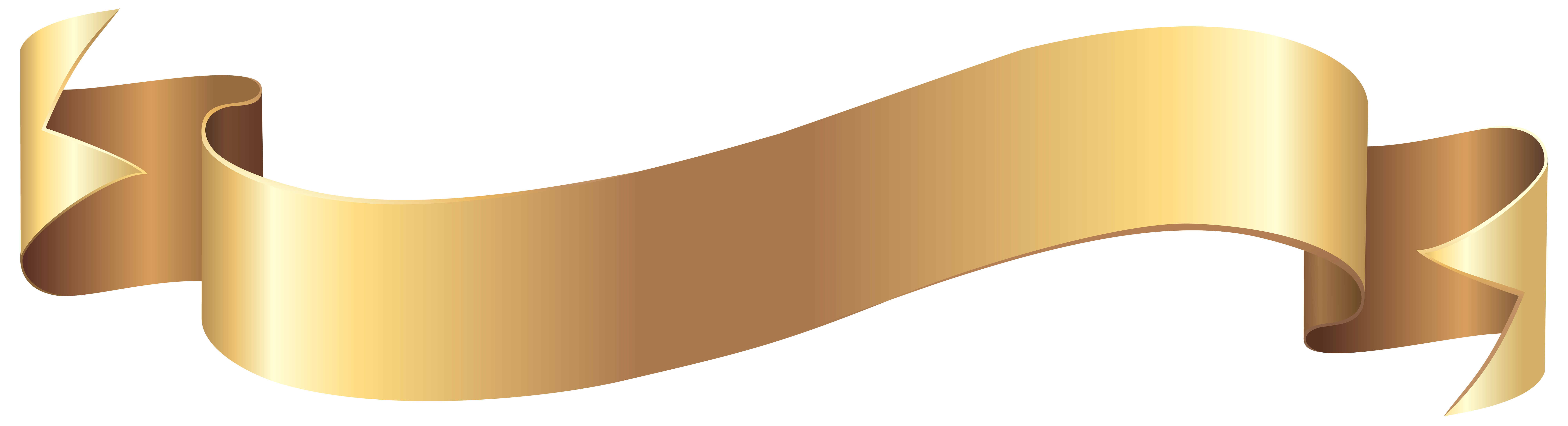 Png gold banner. Clip art image gallery