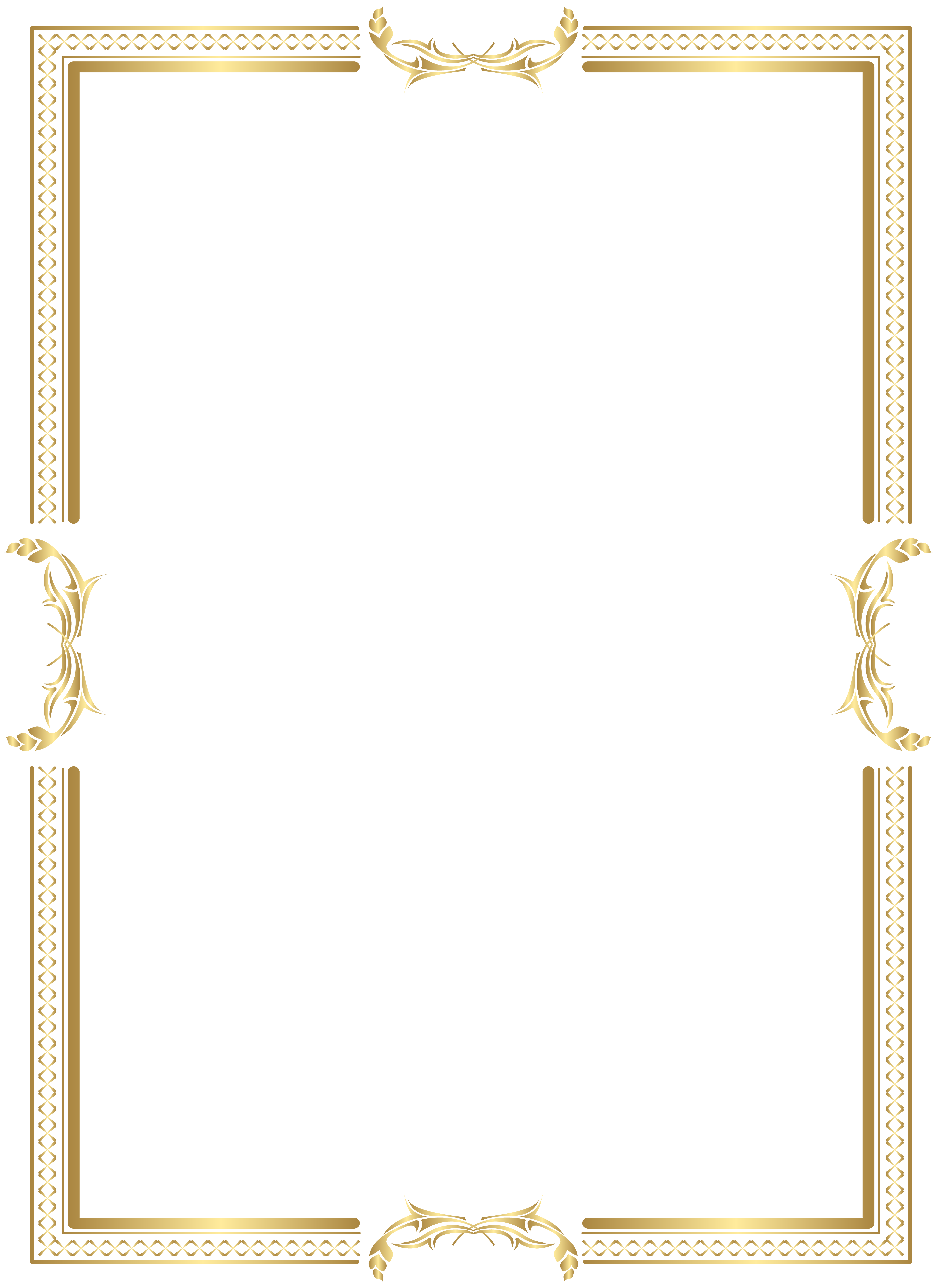 Png gold border. Yellow area pattern frame