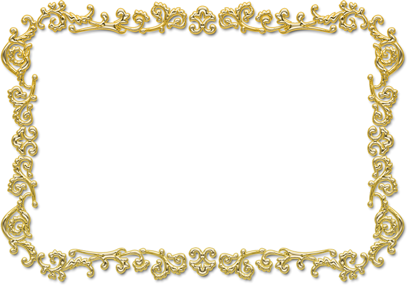 Png gold frame. Awesome image collection custom