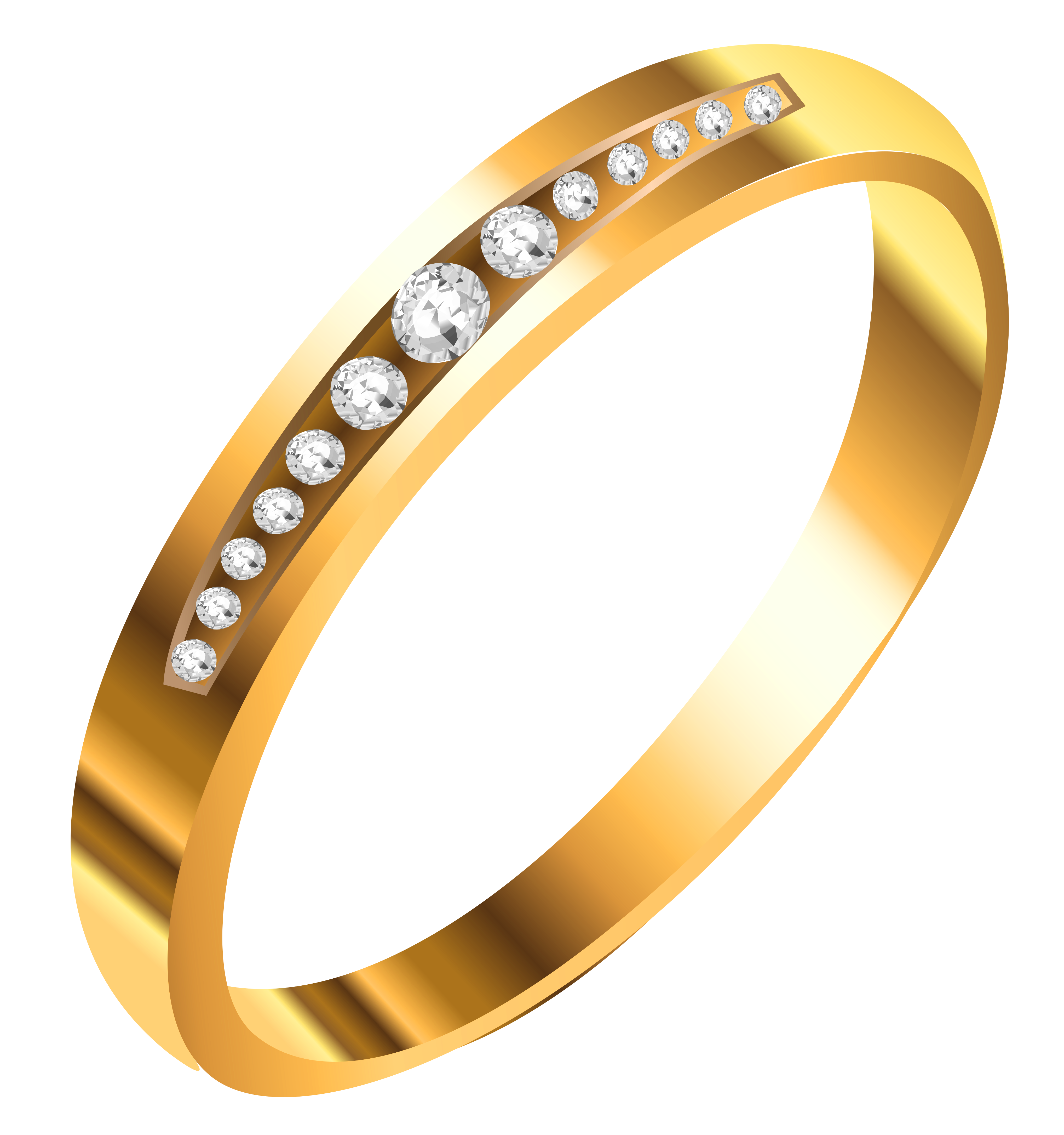 Png gold ring collection. With diamonds clipart gallery