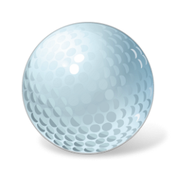 Golf ball png image. Free icons and backgrounds