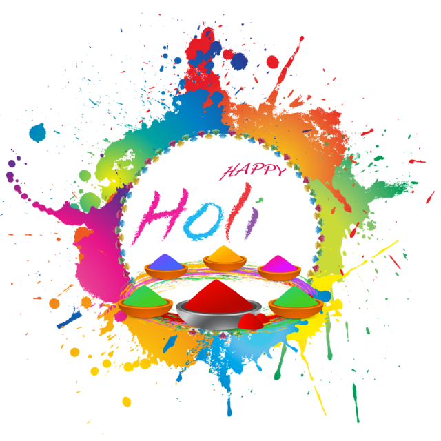 Vector hd holi. Happy wishes png and