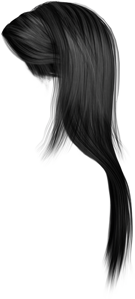 Strand of hair png. Women images transparent free