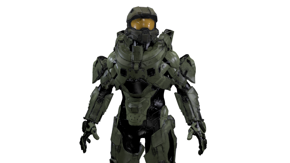 Png halo 5. Finished him master chief