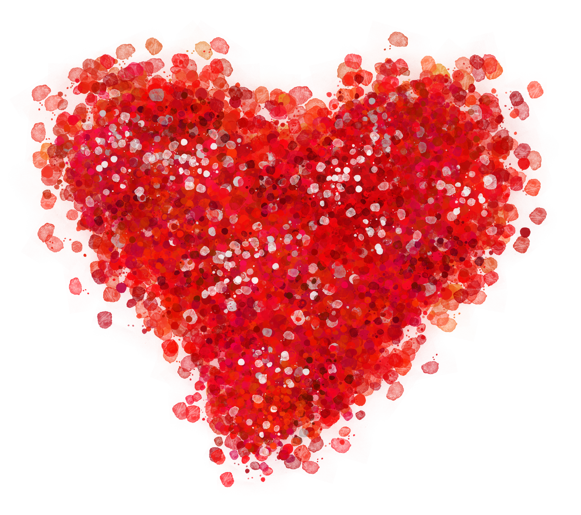 Red heart png. Decorative clipart picture gallery