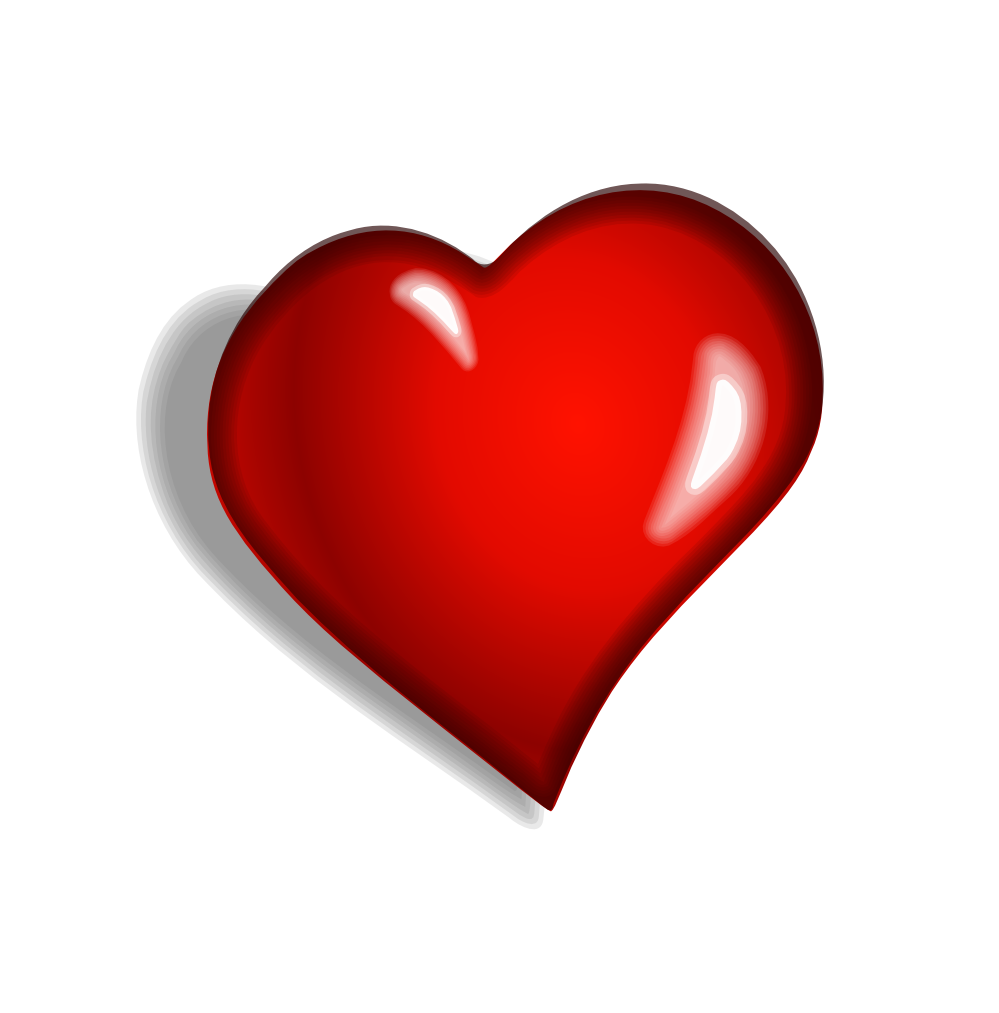 Png heart. Free download clip art