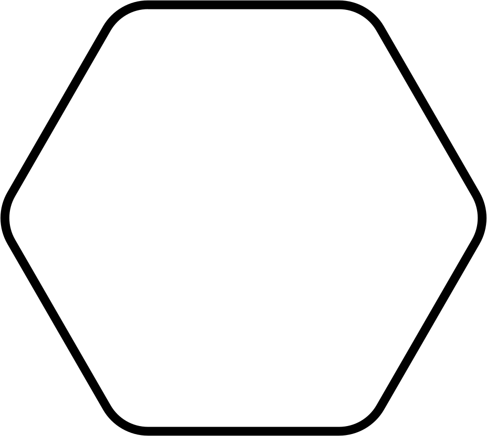 Png hexagon. Svg icon free download