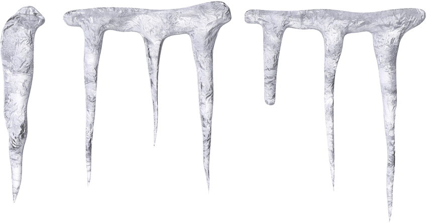 Png free images toppng. Icicles transparent one image black and white library