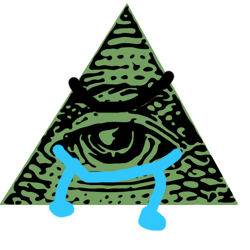 Image crying my singing. Png illuminati banner royalty free library