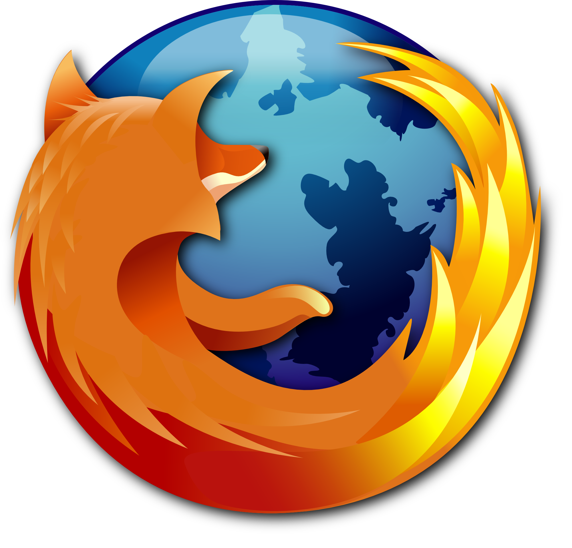 Firefox drawing sad