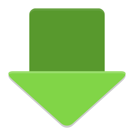 Png image downloader. Arrow icon papirus apps