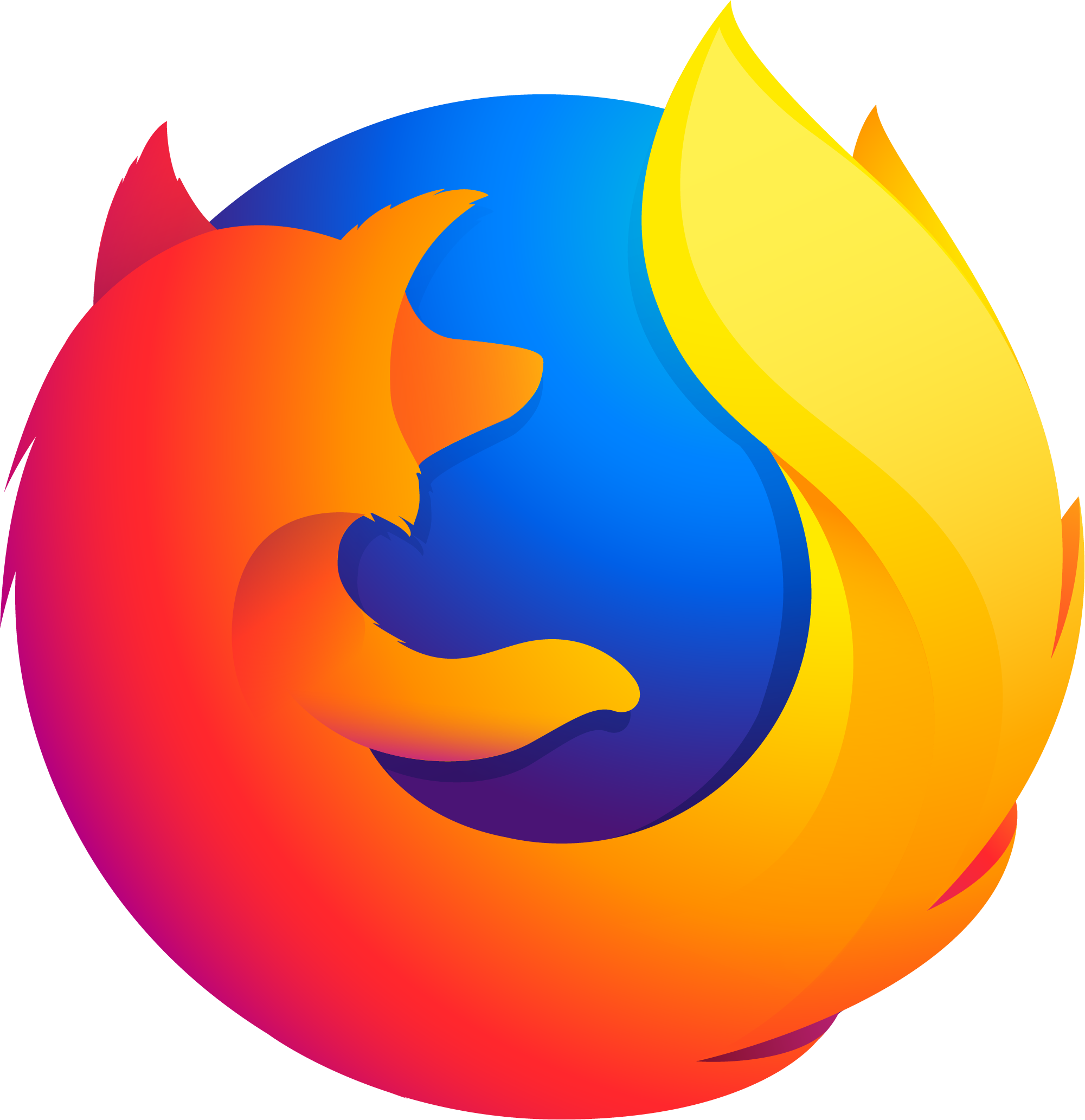 Firefox drawing logo