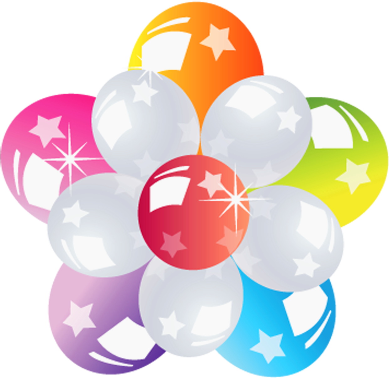 Png image format free download. Balloons bunch transparent picture