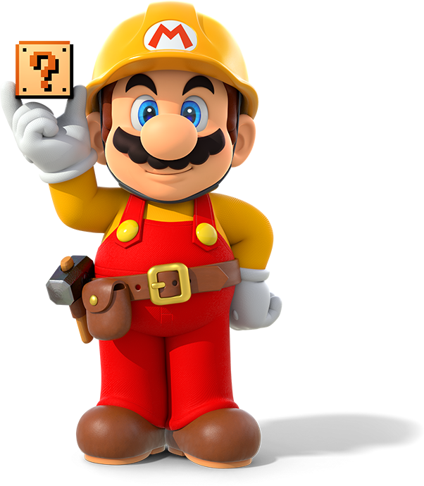 Png image maker. Super mario builder artwork