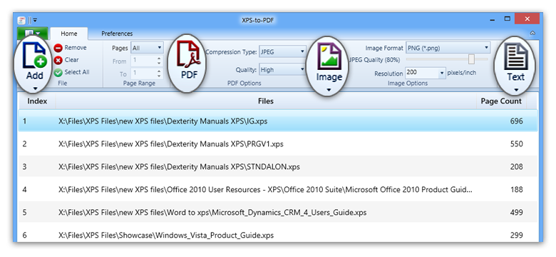 Convert png to pdf windows 8. Xps and oxps jpg
