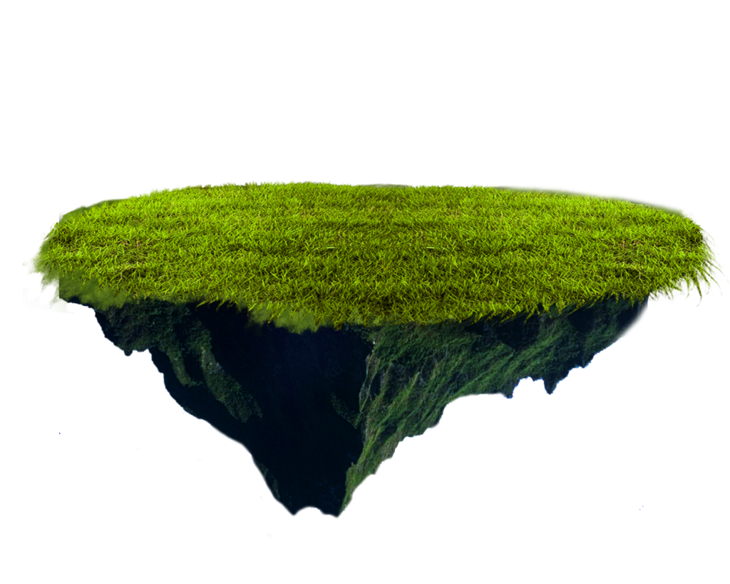 Png images. Floating terrain by moonglowlilly